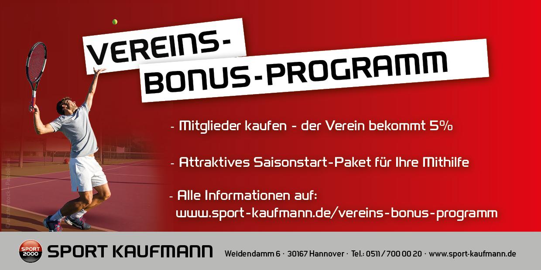 Vereins-Bonus-Programm